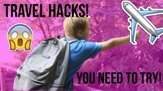 DIY TRAVEL HACKS YOU NEED TO TRY!!