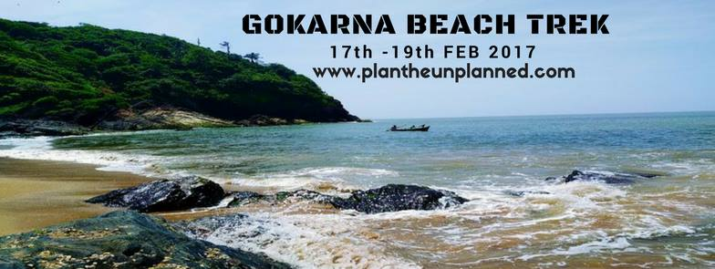 Gokarna Beach Trek with Plan the Unplanned