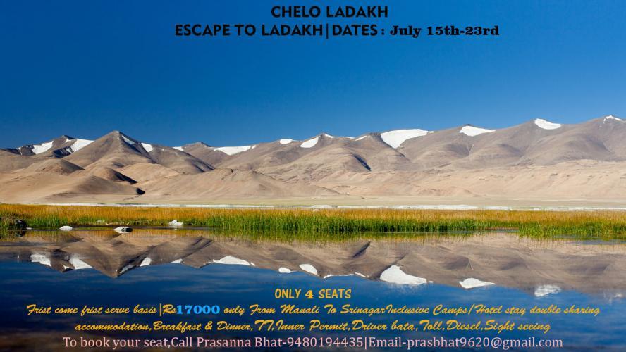 Leh and Ladakh Trip Via Manali July 15th-23rd