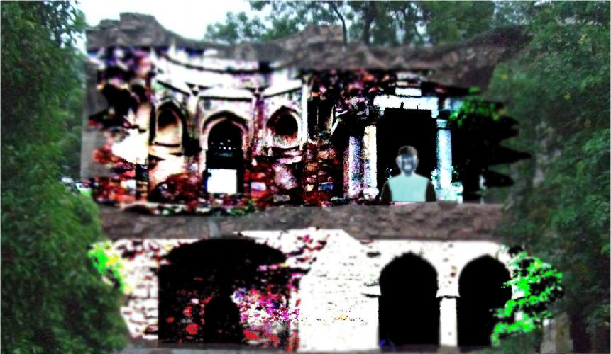 Explore Delhi's Haunted Palace in Rain