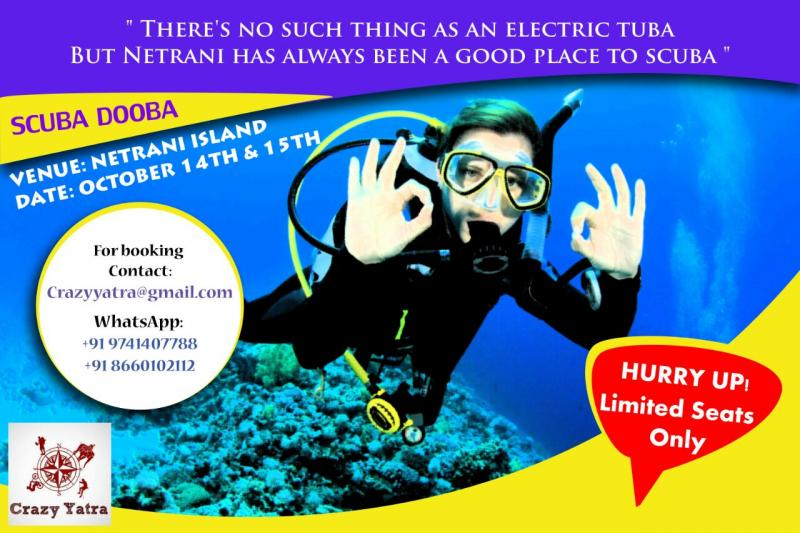 Scuba Dooba - Oct 14 - 15 - Crazy Scuba Diving Yatra
