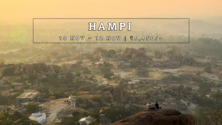 Happy & Hippie At Hampi (2N/3D)