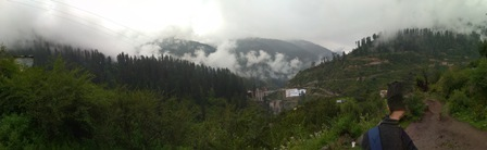 an unplanned trip with unknown persons@ Himachal
