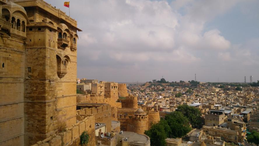 Backpacking through Rajasthan