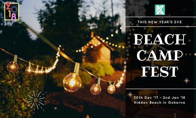 New Year Beach Camping Fest