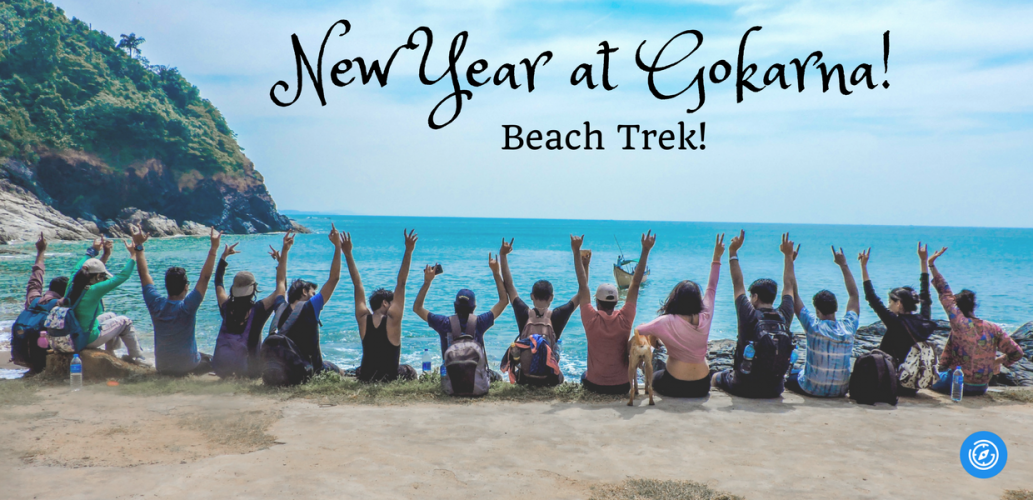New Year at Gokarna! Beach Trek - Plan The Unplanned