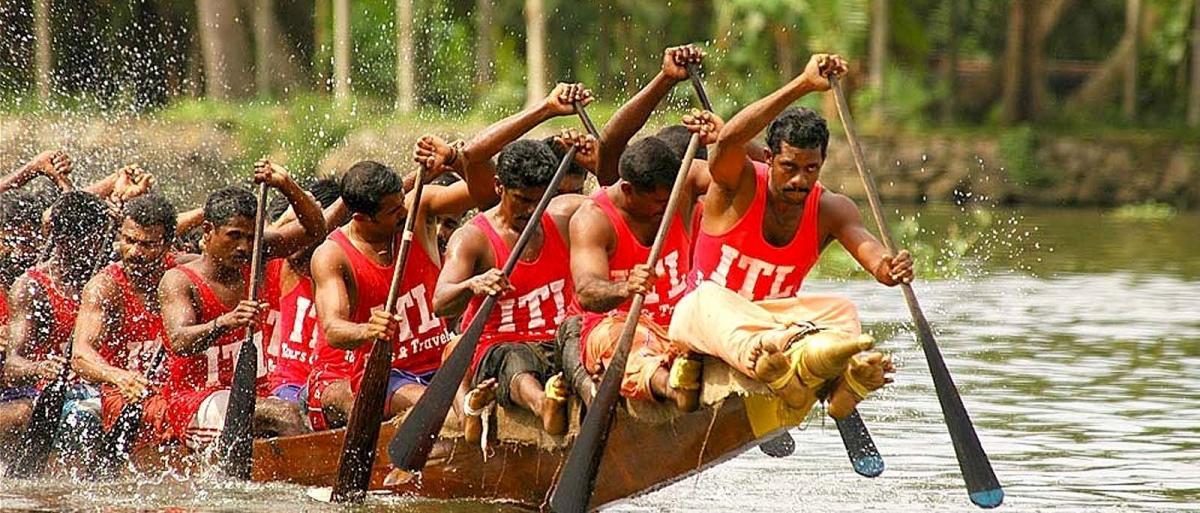 Luxury Trip Kerala -(Boat Race/Onam Festival)  10th- 16th Aug 2018 @ Rs.19499+Airfare