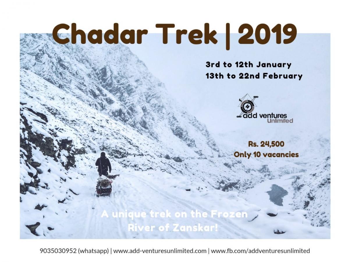 Chadar Frozen River Trek - Zanskar Valley