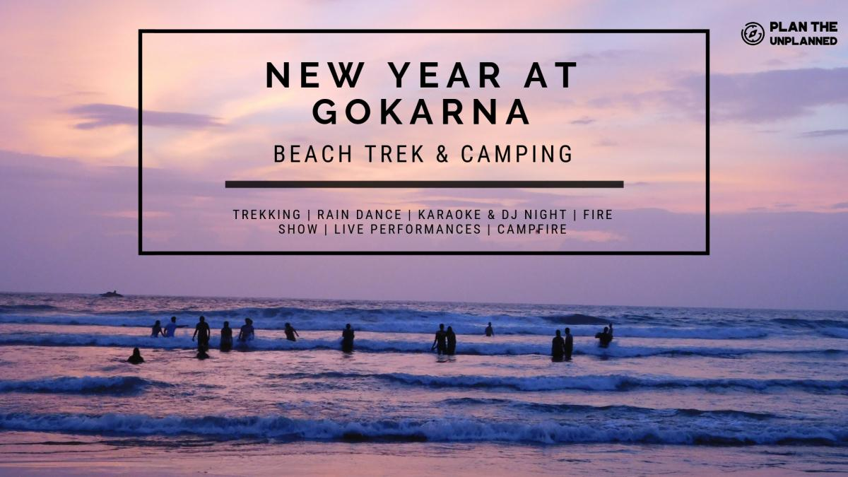 New Year Gokarna Beach Trek and Camping   Plan The Unplanned