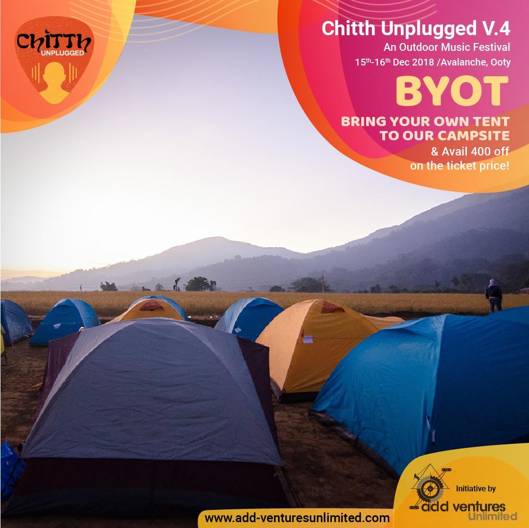 Chitth Unplugged - Music Festival & Weekend Getaway