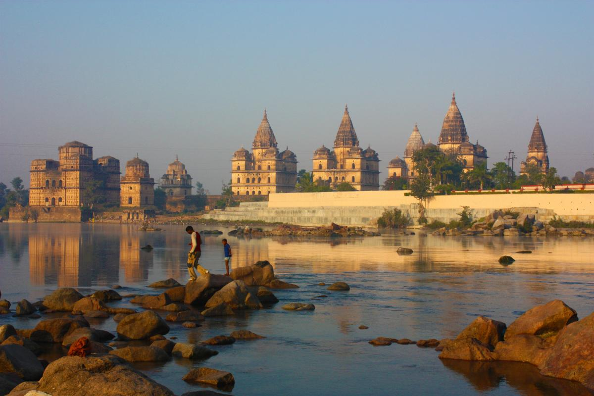 Orchha: travel back in time