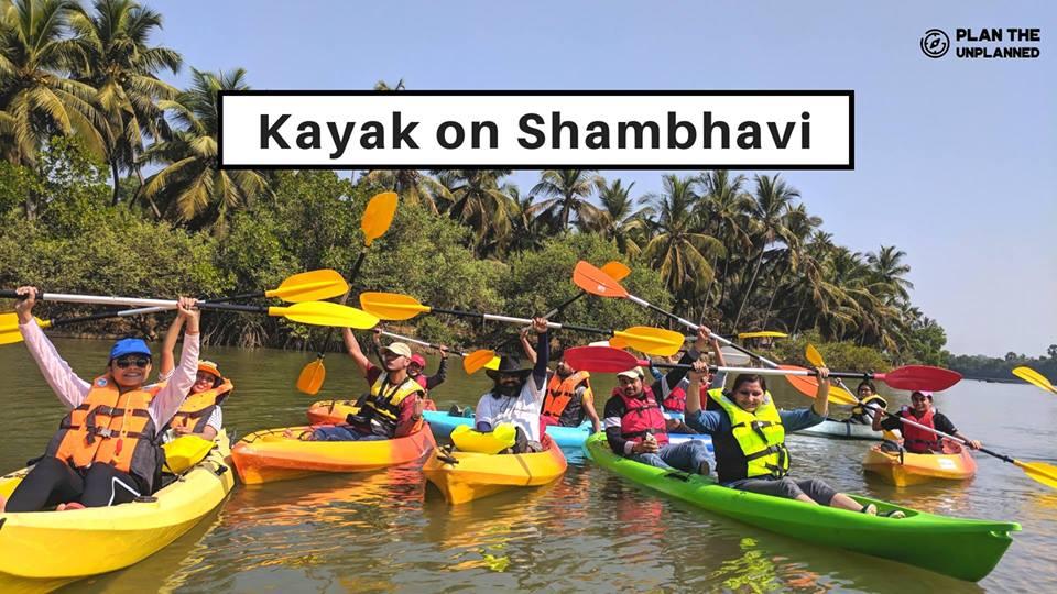 Kayak On Shambhavi   Plan The Unplanned