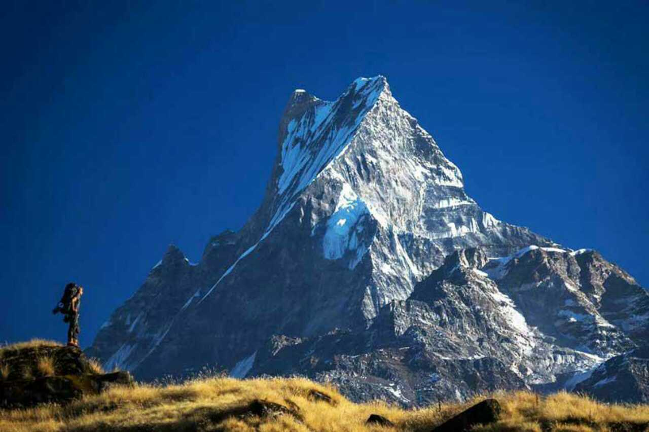 Mardi himal trek/Fishtail Mountain trek