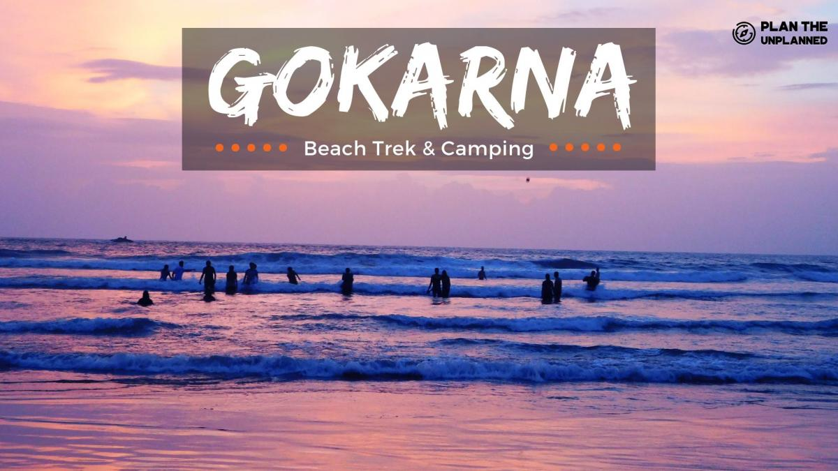 All Women Gokarna Beach Trek and Camping | Plan The Unplanned