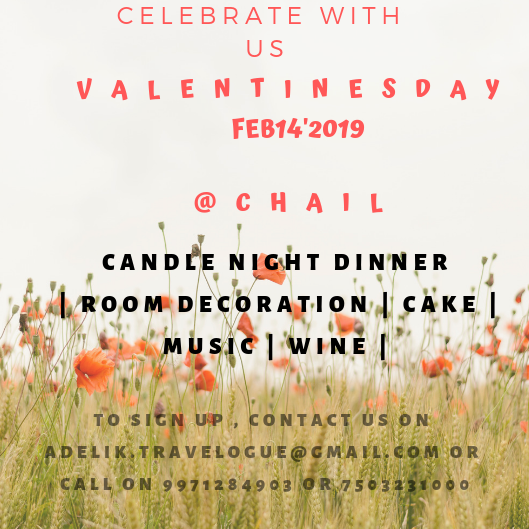 Celebrate Valentine day in a special way@Chail,Himachal Pradesh