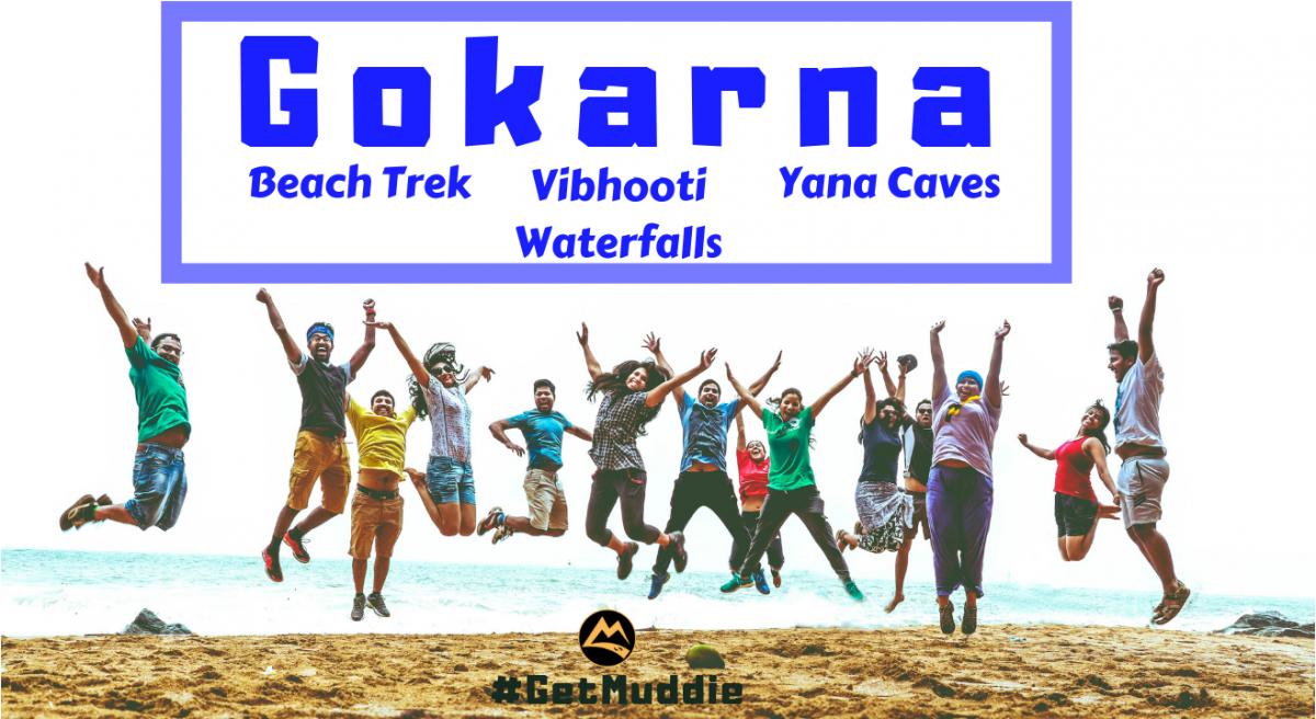 Mar 16,17: Gokarna Beaches, Vibhooti Falls, Yana Caves